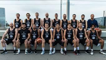Die Erste Mannschaft des BC Bären Kleinbasel