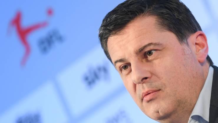 Steht vor einer Herkulesaufgabe: DFB-Geschäftsführer Christian Seifert