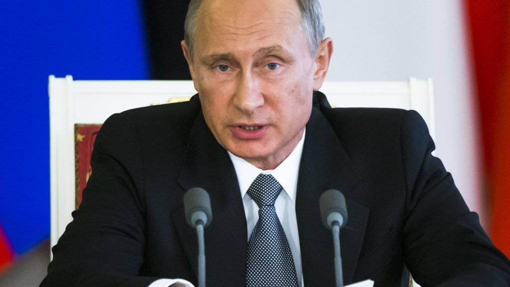 Putin kann zufrieden sein: Die Bürgerinnen und Bürger haben ihm bei den Regionalwahlen den Rücken gestärkt.