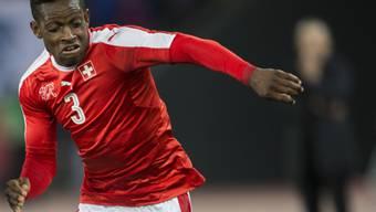 François Moubandje im Einsatz für das Schweizer Nationalteam