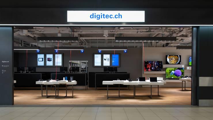 So sieht der neue Digitec-Shop in Langendorf aus.