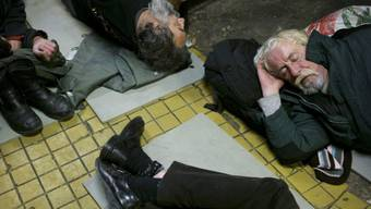Obdachlose in Budapest. (Archivbild)