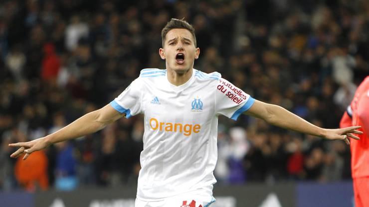 Traf zum Ausgleich für Marseille: Florian Thauvin