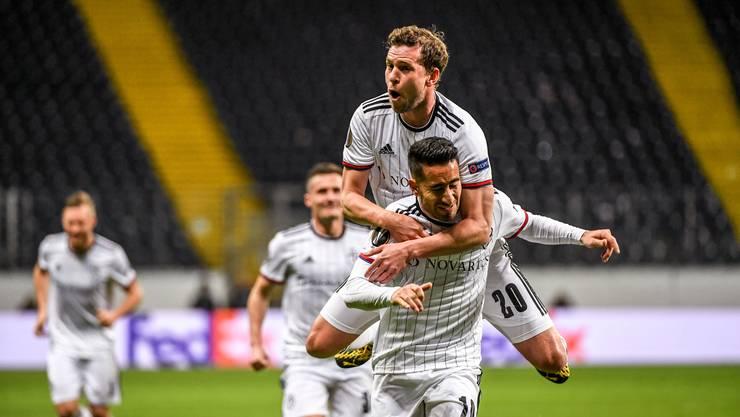 Das Hinspiel am 12. März konnten die Basler mit 3:0 für sich entscheiden - dank Toren von Campo, Bua und Frei.