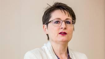 SVP-Regierungsrätin Franziska Roth gibt eine «bereinigte Version» des Berichts «Masterplan Integrierte Versorgung Aargau» frei. Ardizzone/Archiv
