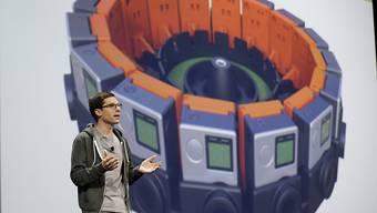 Schöne neue Welt: Clay Bavor präsentiert in San Francisco die jüngsten Google-Entwicklungen
