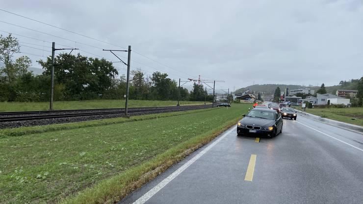 Beim Unfall entstand Totalschaden an beiden Fahrzeugen.