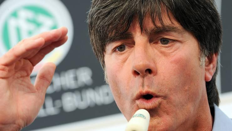 Der deutsche Bundestrainer Joachim Löw.