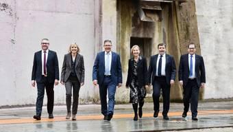 Das offizielle Bild des Solothurner Regierungsrates im Jahr 2019. 2021 wird neu gewählt.