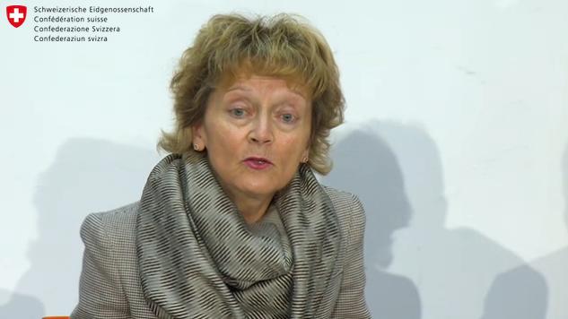 Bundesrätin Eveline Widmer-Schlumpf tritt zurück