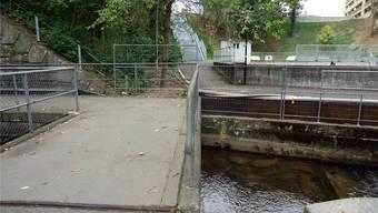 Dieser Steg macht nun einer Brücke für 340000 Franken Platz.