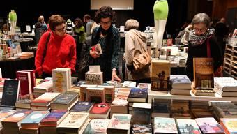 Das dritte Buchfestival Olten wurde in der Schützi am Donnerstagabend eröffnet.