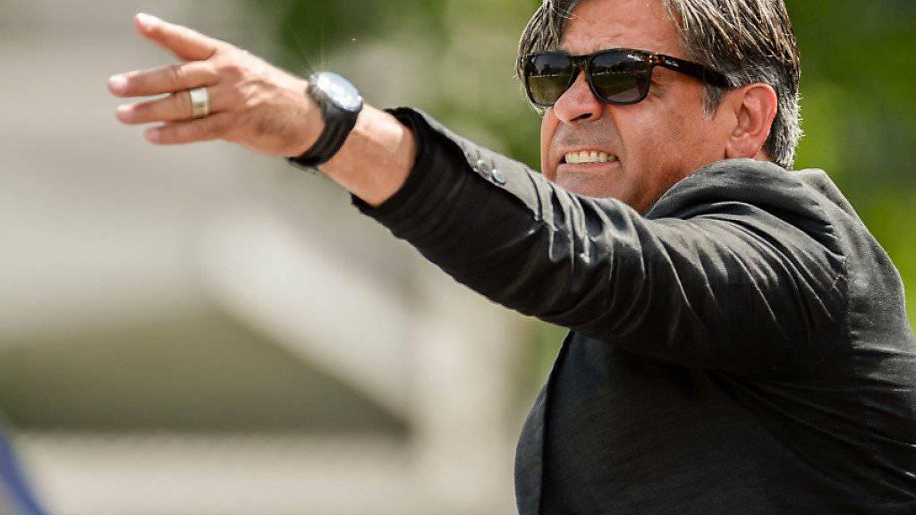 Ex-Schaffhausen-Trainer Maurizio Jacobacci soll den Spielern des FC Wil den Weg zum Ligaerhalt zeigen