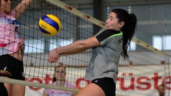 Dünya Kilic und der VBC Gerlafingen müssen nächste Saison in der 1. Liga antreten.