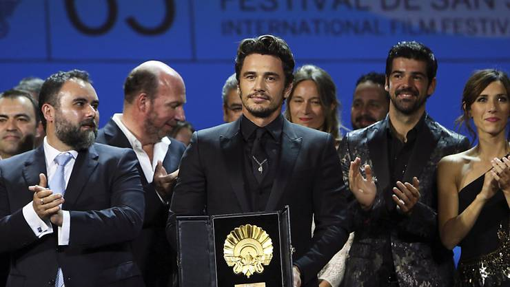 Gewinnt beim Filmfestival von San Sebástian mit einem Streifen über den schlechtesten Film aller Zeiten den Hauptpreis: Hollywoodstar und Filmemacher James Franco.