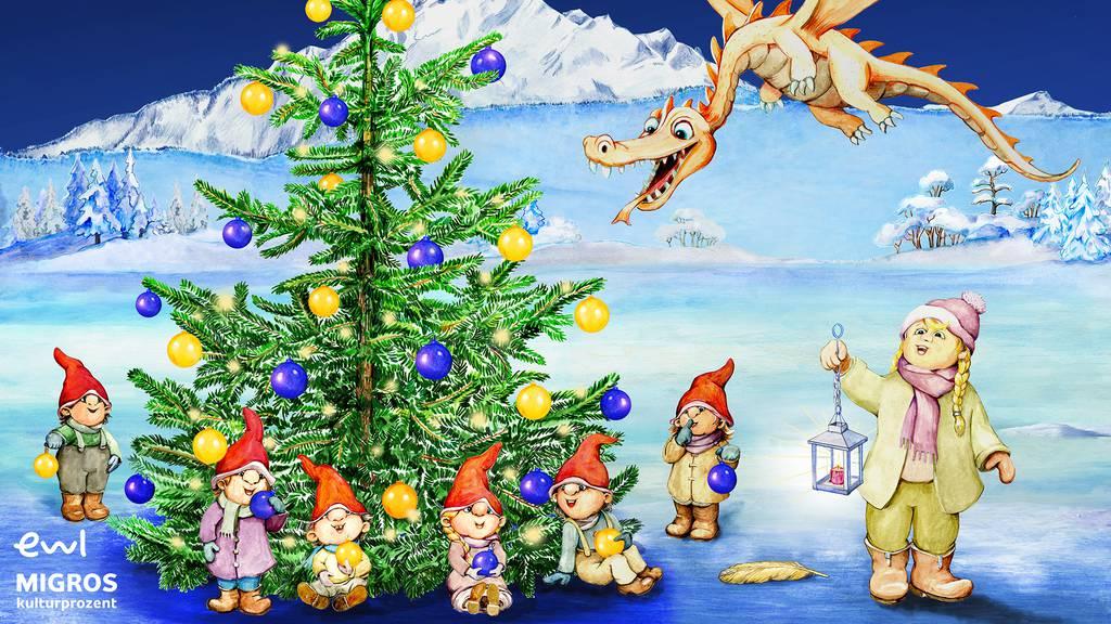 Das Märchen vom Luzerner Weihnachtsbaum