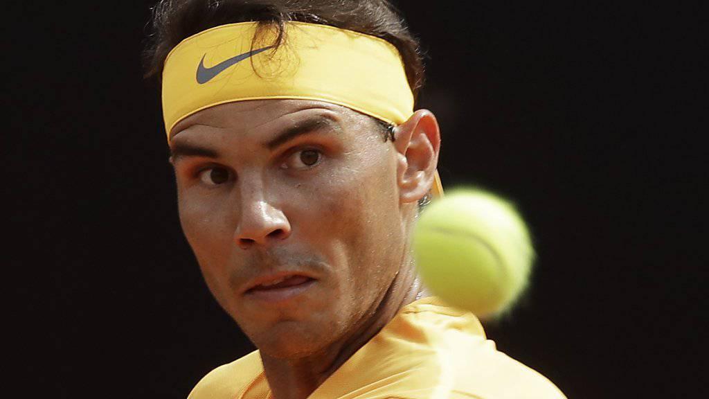Die Rückeroberung der Nummer 1 im Visier: Rafael Nadal.