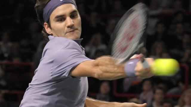 Letztes Jahr scheiterte Roger Federer beim Saisonfinale in London in den Halbfinals