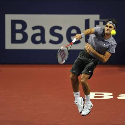 Überzeugte in Basel: Roger Federer.