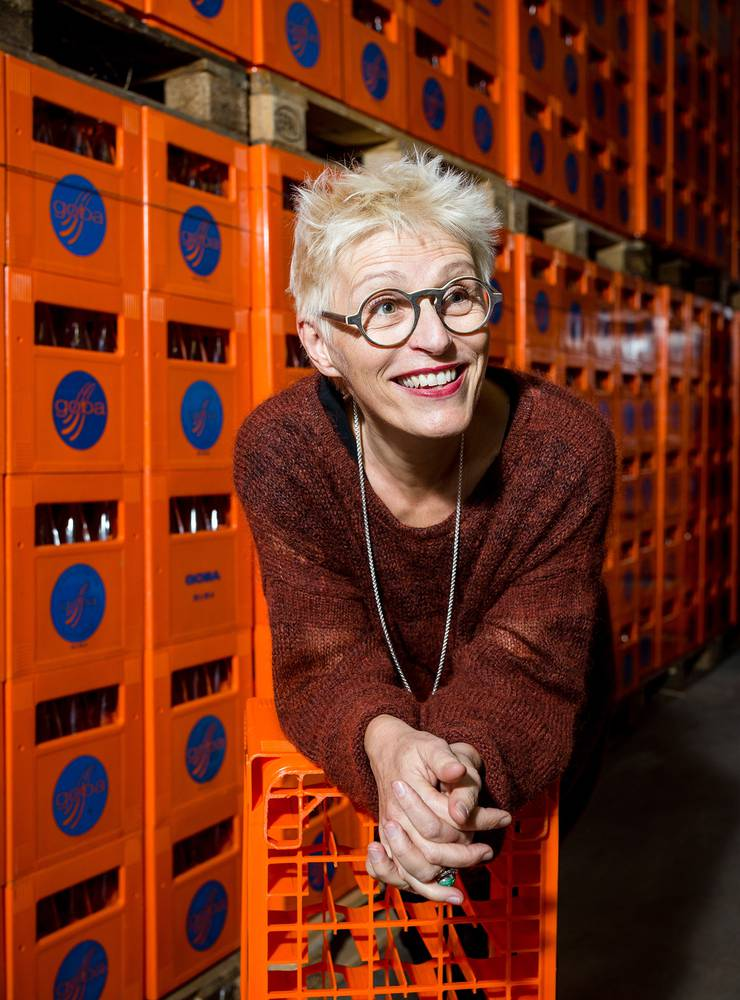 Aufsteigerin: Gabriela Manser, Chefin der Goba Mineralquelle.