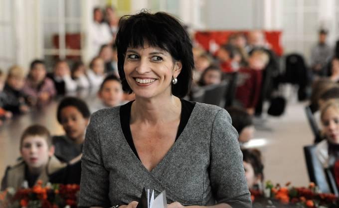 Doris Leuthard (CVP), erste Aargauer Bundesrätin.