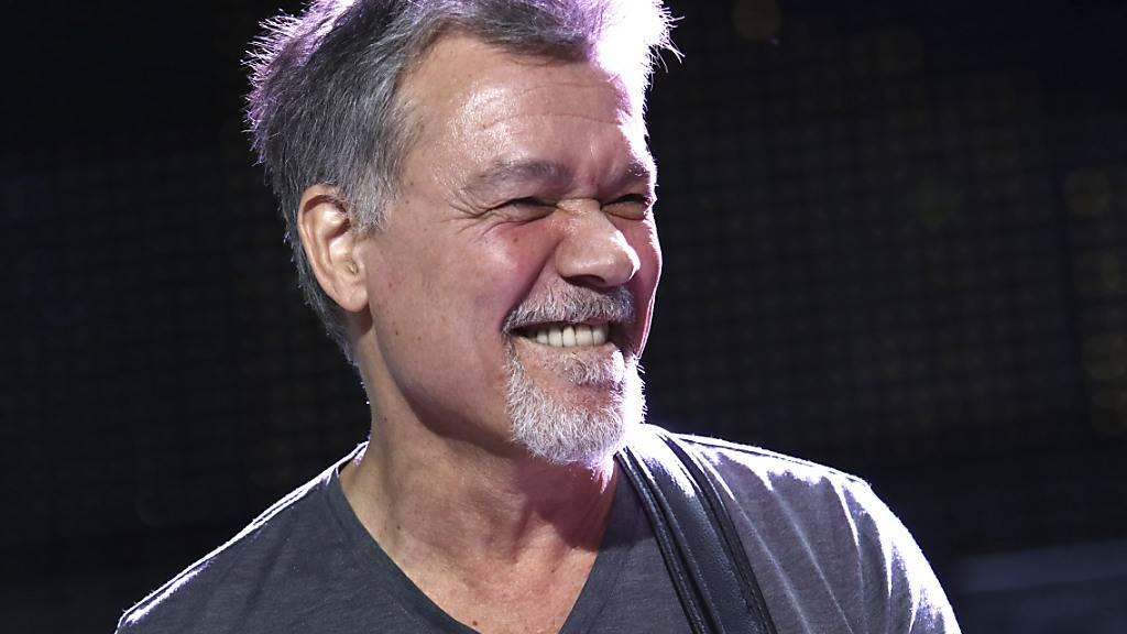 Tod einer Gitarren-Legende: Eddie van Halen gestorben