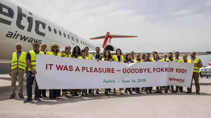 Ein emotionaler Abschied für viele Mitarbeiter