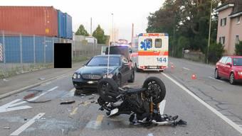 Unfall in Pratteln