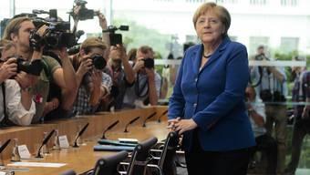 Die deutsche Bundeskanzlerin stellt sich am Donnerstag, 28. Juli 2016, den Fragen der Journalisten.