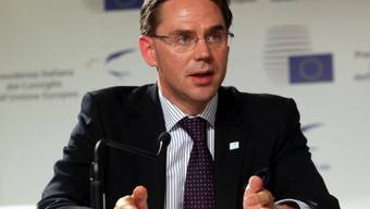 EU-Währungskommissar Jyrki Katainen (Archiv)