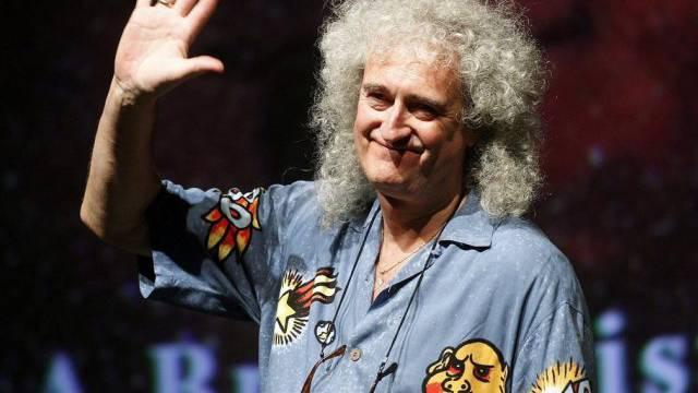 Queen-Gittarist Brian May wird im Hallenstadion zu sehen sein
