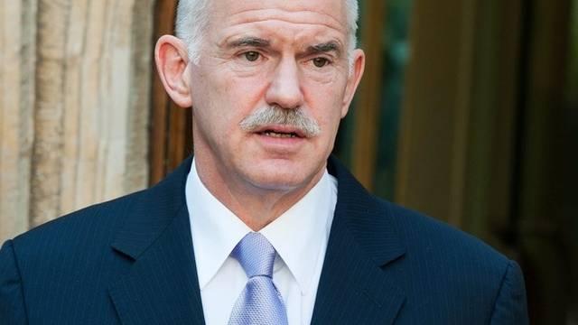 Der griechische Ministerpräsident Giorgos Papandreou