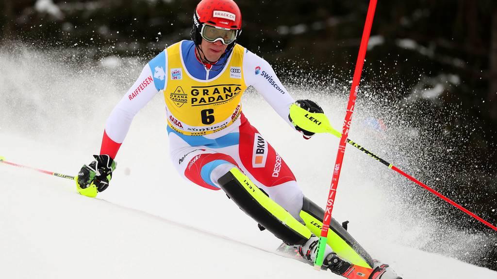 Ramon Zenhäusern gewinnt den Slalom