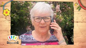 Sonja Bernasconi jasste vom Telefon aus.