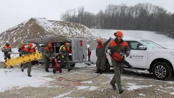 Zivilschutz Kanton Solothurn mit neuem Material ausgerüstet