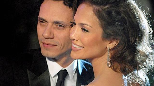 Jennifer Lopez und Marc Anthony (Archiv)