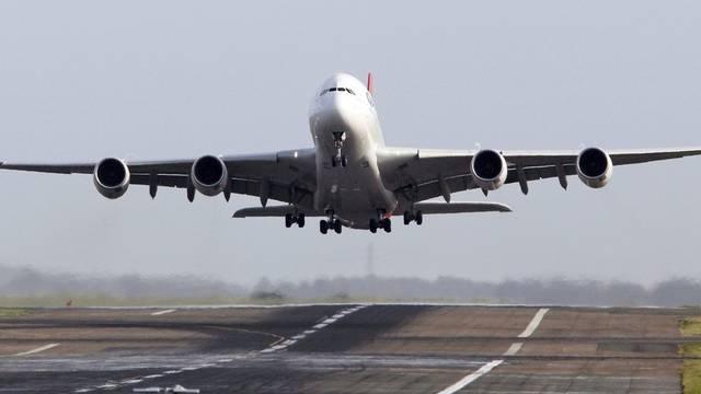 Die Zukunft der australischen Fluggesellschaft Qantas ist unsicher (Archivbild)
