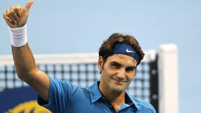 Tennis-Superstar Roger Federer