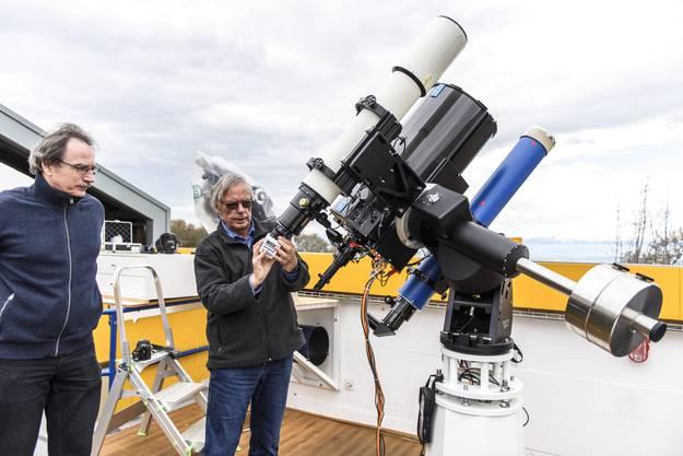 Einrichten der neuen Digitalkamera in der Jura-Sternwarte