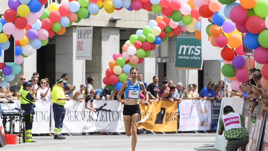 Schlumpf läuft Schweizer Rekord