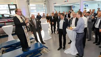 Einweihung der neuen Räumlichkeiten der Garage Galliker AG in Bellach