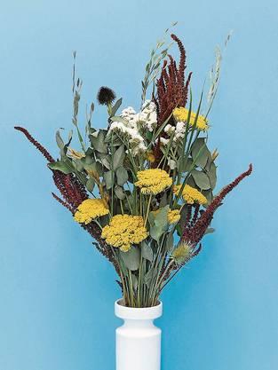 Der Schweizer Online-Shop Arui verschickt seit letzten Herbst Bio-Trockenblumensträusse.