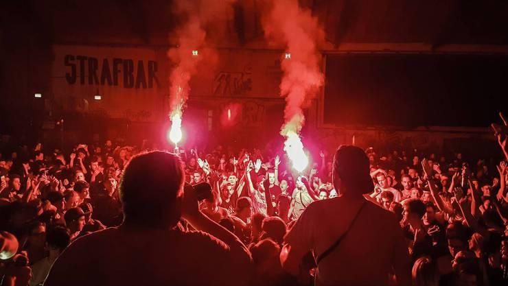 Auftritt der Chaostruppe: Mitglieder des Kollektivs wurden verurteilt.