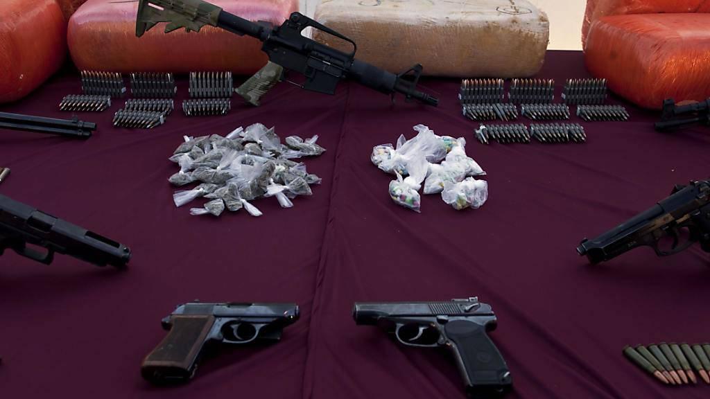 Rivalisierende Drogenbanden sind in Mexiko ein grosses Problem. (Symbolbild)
