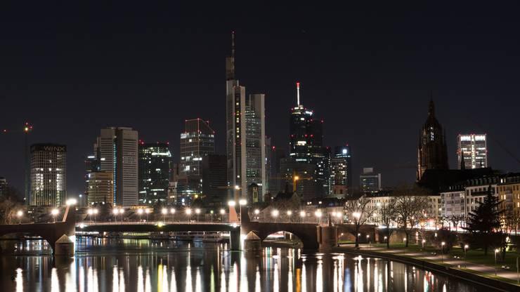 Earth Hour in Frankfurt