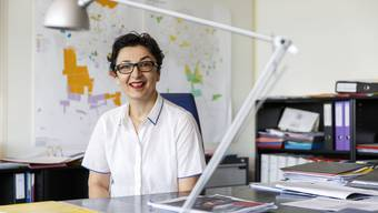 Stadtbaumeisterin für (allzu) kurze Zeit: Drazenka Dragila.
