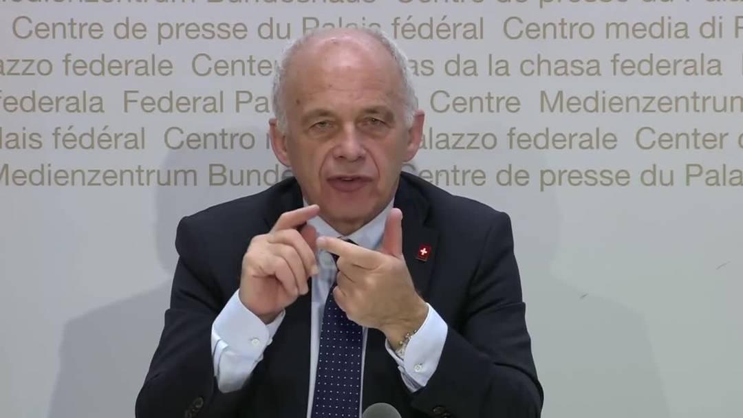 Ueli Maurer: «Der Bund ist nicht für jede Firma im Land verantwortlich» (3.4.2020)