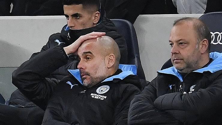 Pep Guardiola darf mit Manchester City nicht in der Königsklasse spielen.