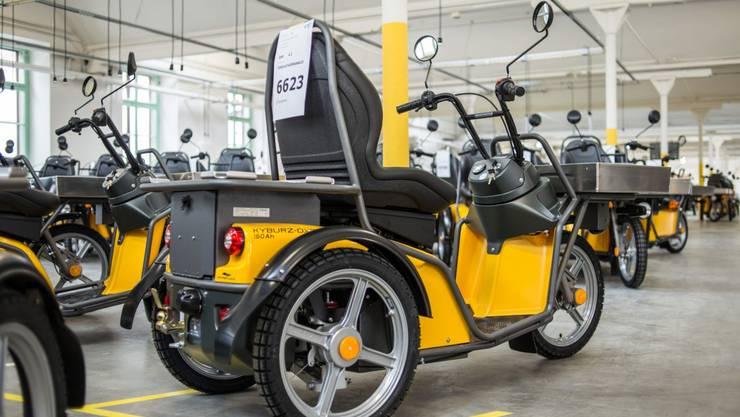 Dank einem neuen Verfahren kann der Elektrofahrzeughersteller Kyburz die Batterien seiner Dreirad-Roller neu in einer eigenen Anlage rezyklieren.