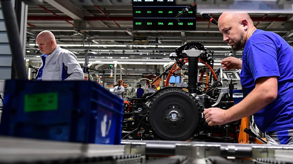 Deutsche Wirtschaft im dritten Quartal leicht gewachsen